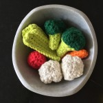 Crocheted Fruits & Vegetables